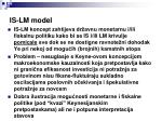 is lm model3
