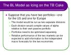 the bl model as icing on the tb cake