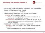 model theory non monotonic semantics 2