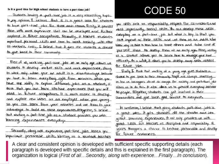 CODE 50