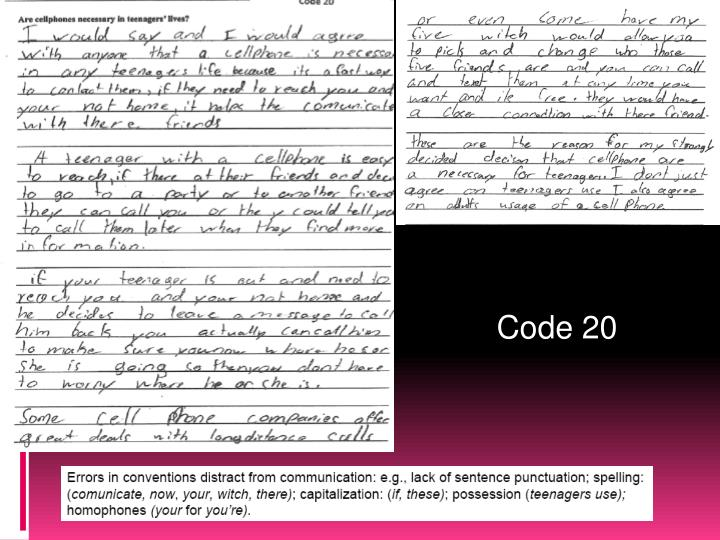 Code 20
