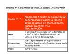 directriz n 2 desarrollo de carrera y acceso a la capacitaci n5