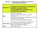 directriz n 5 proteccion de los derechos de maternidad y responsabilidades parentales1