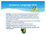 resource language arts