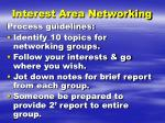 interest area networking1
