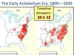the early antebellum era 1800 1840