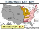 the new nation 1783 1800