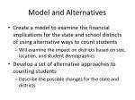 model and alternatives
