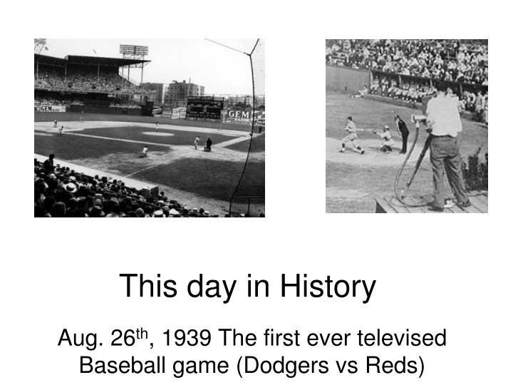 this day in history n.