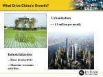 what drive china s growth