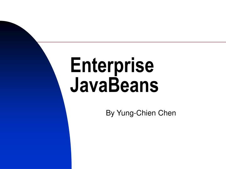 enterprise javabeans n.