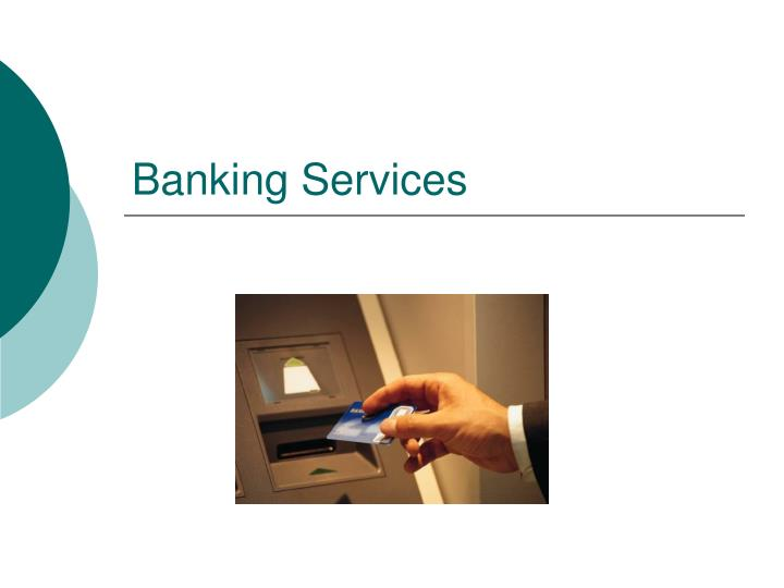 banking services n.