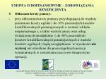 umowa o dofinansownie zobowi zania beneficjenta20
