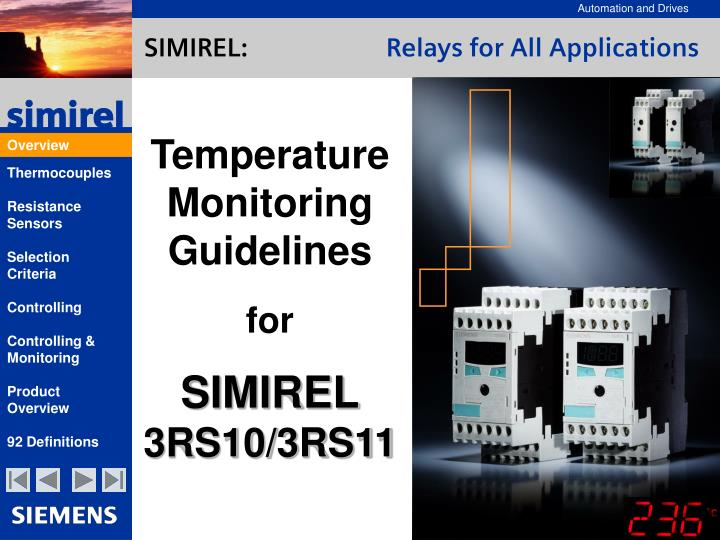 simirel relays for all applications