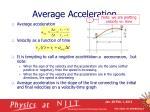 average acceleration1