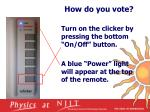how do you vote