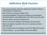 addiction risk factors