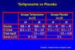 terlipressine vs placebo