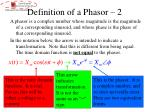 definition of a phasor 2