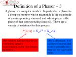 definition of a phasor 3