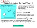 example solution the hard way 1