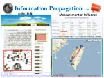 information propagation in