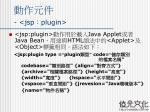 jsp plugin