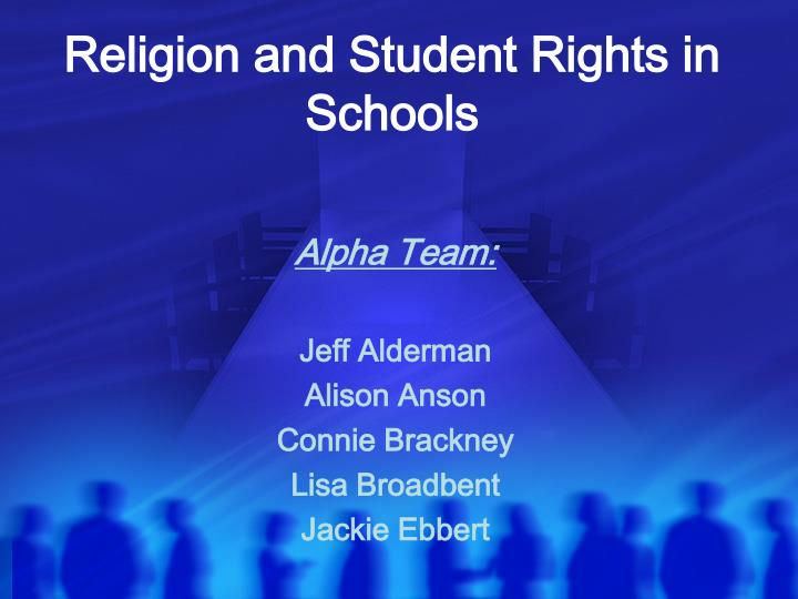 religion and student rights in schools n.