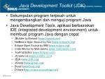 java development toolkit jdk