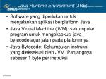 java runtime environment jre