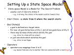 setting up a state space model