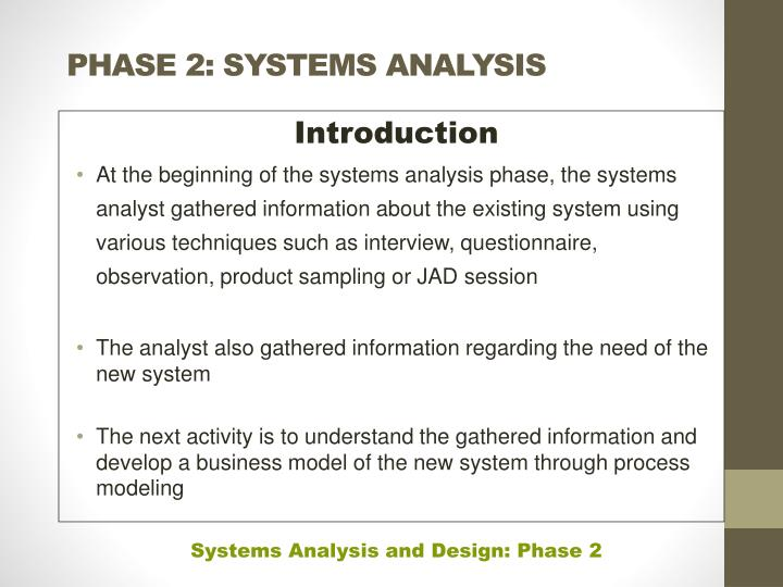 Ppt Phase 2 Systems Analysis Powerpoint Presentation Free Download Id 5637879