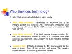 web services technology