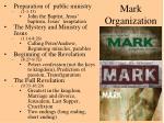 mark organization