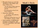 mark s style