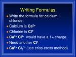 writing formulas1