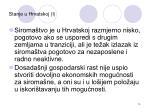 stanje u hrvatskoj i