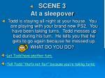 scene 3 at a sleepover