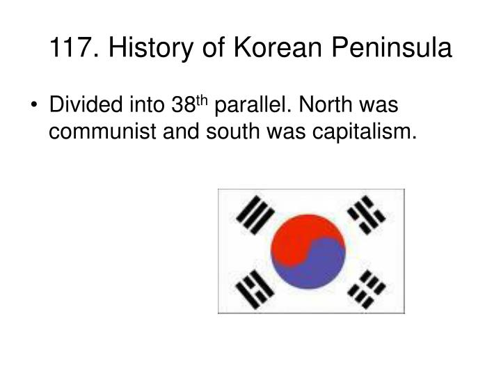117. History of Korean Peninsula