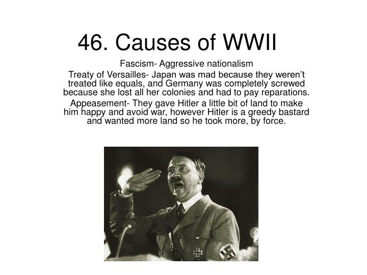 46. Causes of WWII