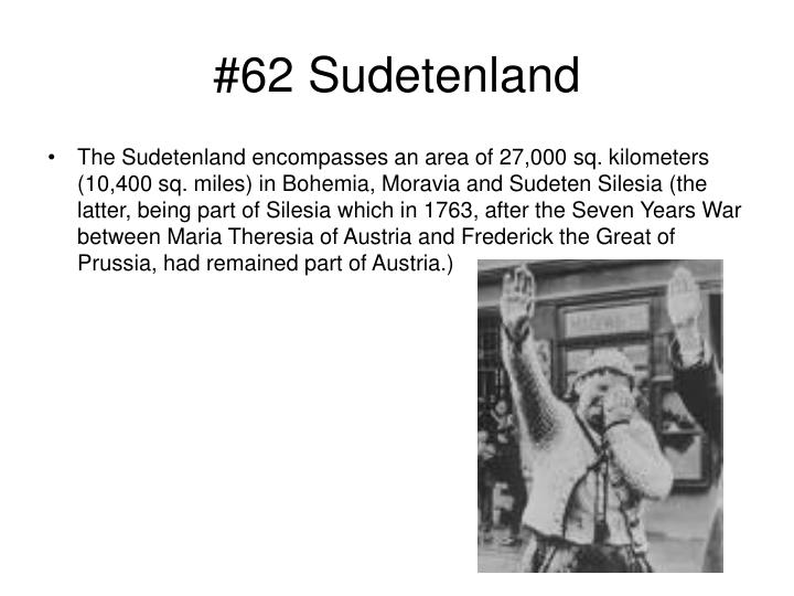 #62 Sudetenland