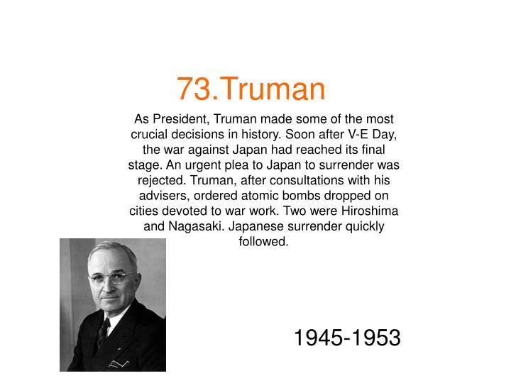 73.Truman