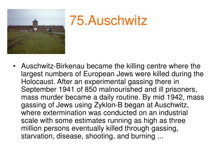 75.Auschwitz