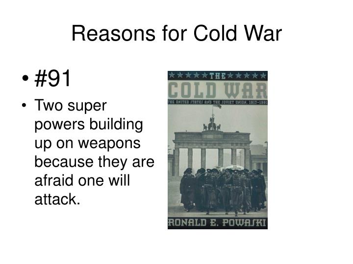 Reasons for Cold War