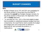 budget changes1