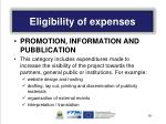 eligibility of expenses3