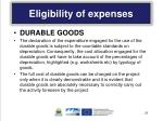 eligibility of expenses5