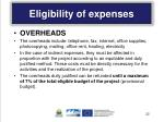 eligibility of expenses6