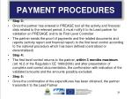 payment procedures1