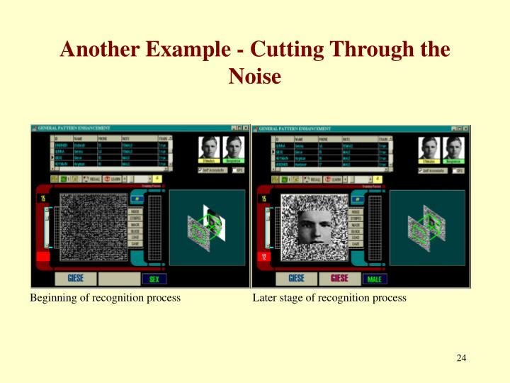Another Example - Cutting Through the Noise